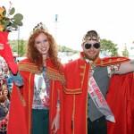 Karottenweitwurf und Sommersprossenzählen beim Festival der Rothaarigen in Crosshaven