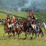 200 Jahre Schlacht von Waterloo:Tausende Darsteller spielen Napoleons Niederlage nach