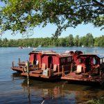 Einfach mal Floßfahren –wie Tom Sawyer im Floß über die Havel schippern