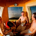 Einzigartige Sauna-Gondel mit Blick auf Ylläs