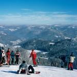 Schneesichers Skigebiet im Schlesischen Beskiden