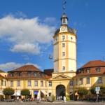Rokoko-Spurenim mittelfränkischen Ansbach