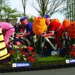 Tulpenblüte in den Niederlanden – Korso durch die Blumenzwiebelregion