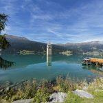 Stummer Zeitzeuge im Vinschgau:Wie der Turm in den Reschensee kam