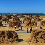 Oostende lädt zum Sandskulpturnfestival