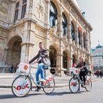 Wien bequem vom Fahrradsattel aus entdecken