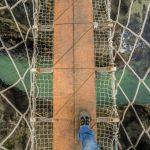 30 Meter über dem Atlantik: Nerven beweisen auf der einzigen Seilbrücke Irlands