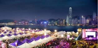 Internationales Gourmet-Festival in Hongkong