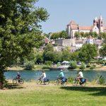 Rebterrassen und Winzerdörfer:Im Naturgarten Kaiserstuhl kommen Radler genussvoll in Fahrt