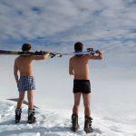Ski-Frühling in den französischen Alpen