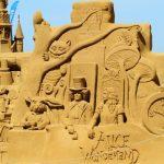 Gigantisches Sandskulpturenfestival in Oostende