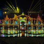 Spektakuläre Lichtshow krönt  Andersen Festival