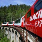 Mit dem Glacier-Express durch die Schweizer Alpen