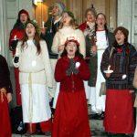 Stimmungsvolles Stockholm:Lichterköniginnen verbreiten weihnachtlicher Glanz