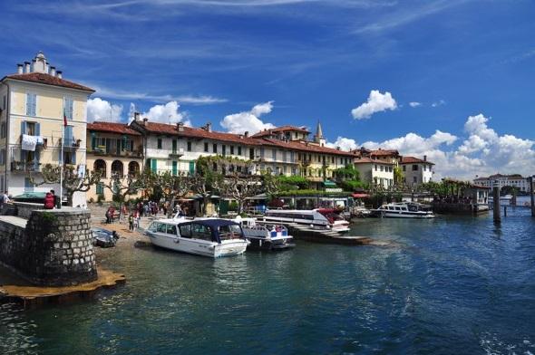 Ein Stück Bilderbuchkulisse am Lago Maggiore: Isola dei Pescatori. (Foto Roberto Maggioni)