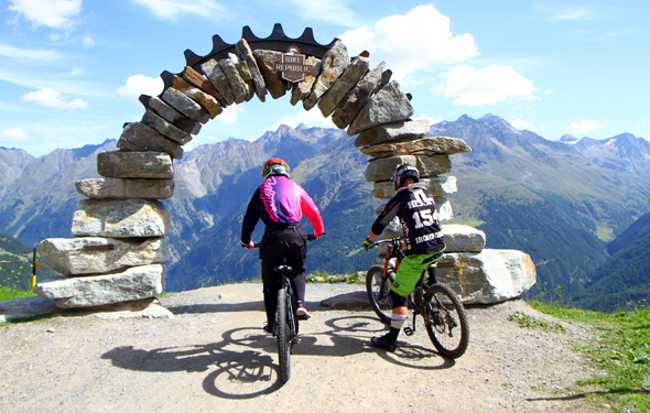 Die Bike Republic in Sölden begeistert Mountainbiker aller Könnerstufen. (Foto Karsten-Thilo Raab)