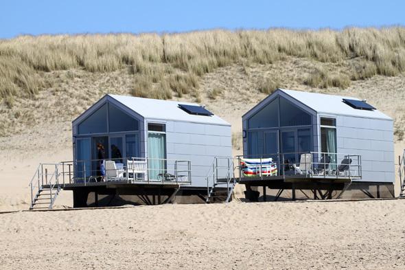 Traumhaft gelegen sind die Ferienhäuser von Landal am Strand von Julianadorp. (Foto Karsten-Thilo Raab)