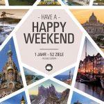 Ab ins Wochenende – 52 Ideen für Kurzreisen
