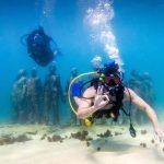 Neptuns Lieblingsplatz vor der Küste von Grenada