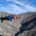 "Nevis Catapult –Neuseelands erstes ""horizontales Bungee-Erlebnis"
