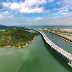 Rekordbrücke zwischen Hongkong und Macau