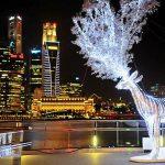 Singapur – Weihnachtsstimmung bei tropischen Temperaturen