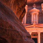 Petra –rosafarbene Felsenstadt der Nabatäer