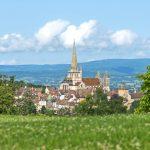 Autun -ein Kleinod in Burgund-Franche-Comté