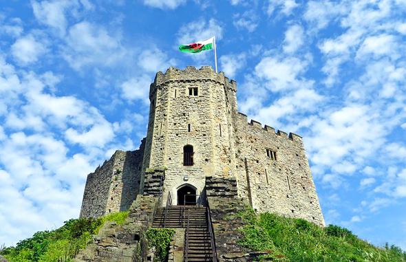 Cardiff Castle blickt auf eine lange, bewegte Geschichte.