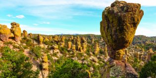 Steinwunder in Arizona: die Chiricahua Mountains