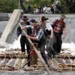 Auf Huckelberry Finns Spuren:Flößen in Thüringen