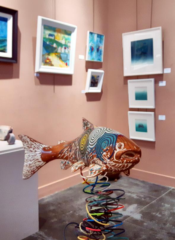 Das Moray Arts Centre präsentiert Kunstgenuss auf kleinem Raum. - Foto Karsten-Thilo Raab
