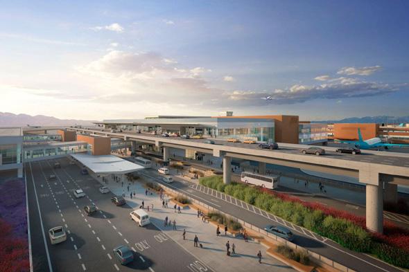 Abflug- und Ankunftebenen Copyright Salt Lake City International Airport
