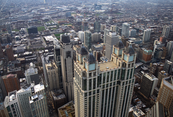 Faszinierender Blick vom Hancock Tower. - Foto Karsten-Thilo Raab