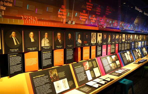 Das American Writer's Museum widmet sich den größten Schriftstellern des Landes. - Foto Karsten-Thilo Raab