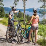 E-Biken auf dem Seenradweg Hochschwarzwald
