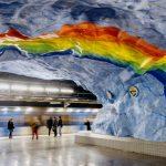 Gratis-App zeigt Kunst der Stockholmer U-Bahn