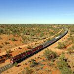 Ein feiner Zug: Der Ghan rollt seit 90 Jahren