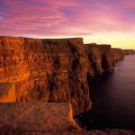 Cliffs of Moher in einem ganz besonderen Licht