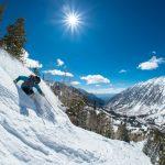 Winterwonderland Utah mit 13 Metern Schnee