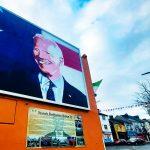 Ballina stolz: Joe Biden fünf Achtel irisch