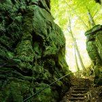 Durch die Teufelsschlucht in der Eifel