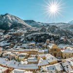 Schweizer Städte im prachtvollen Winterkleid
