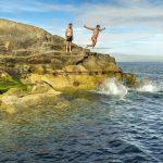 Cool Swimming auf der Grünen Insel