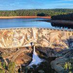 Gigantisches Wandbild am Wellington Dam enthüllt