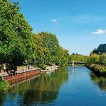 Vom Fluss umarmt – die grüne Wasserstadt Nordhorn