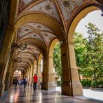 Säulengänge in Bologna nun Welterbe