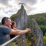 Bad Grund: Wo der Hübichenstein über den Harz blickt