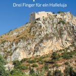 Peleponnes – drei Finger für Halleluja